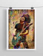 Dave Grohl Foo Fighters Poster, Dave Grohl Gift, Dave Grohl Tribute Fine Pop Art