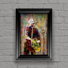 Flogging Molly Poster, Dave King of Flogging Molly Gift, Dave King Tribute Fine Art
