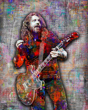 Dave Grohl Foo Fighters Gray Poster, Dave Grohl Gift, Dave Grohl Tribute Art