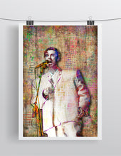 David Byrne Poster, Talking Heads David Byrne Gift, David Byrne Tribute Fine Art
