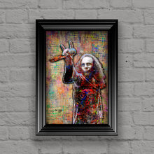 Dio Poster, Ronnie James Dio Tribute Fine Art