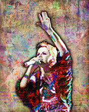 Dolores O'Riordan of The Cranberries Memorial 1971-2018 Poster, Cranberries Tribute Fine Art