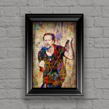 Eddie Vedder Poster, Eddie Vedder and Pearl Jam Tribute Fine Art
