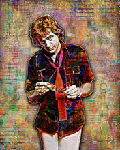 Eddie Money Poster, Eddie Money Tribute Fine Art