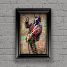 Elvis Costello Poster, Elvis Costello Tribute Fine Art