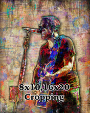 Eric Church Poster, Eric Church Country Gift, Eric Church Colorful Layered Tribute Fine Art
