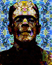 Frankenstein Poster, Frankenstein Multi-Colored Pop Art Gift, Frankensteins Monster Fine Art