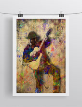 Garth Brooks Pop Poster, Garth Brooks Gift, Garth Brooks Tribute Fine Art