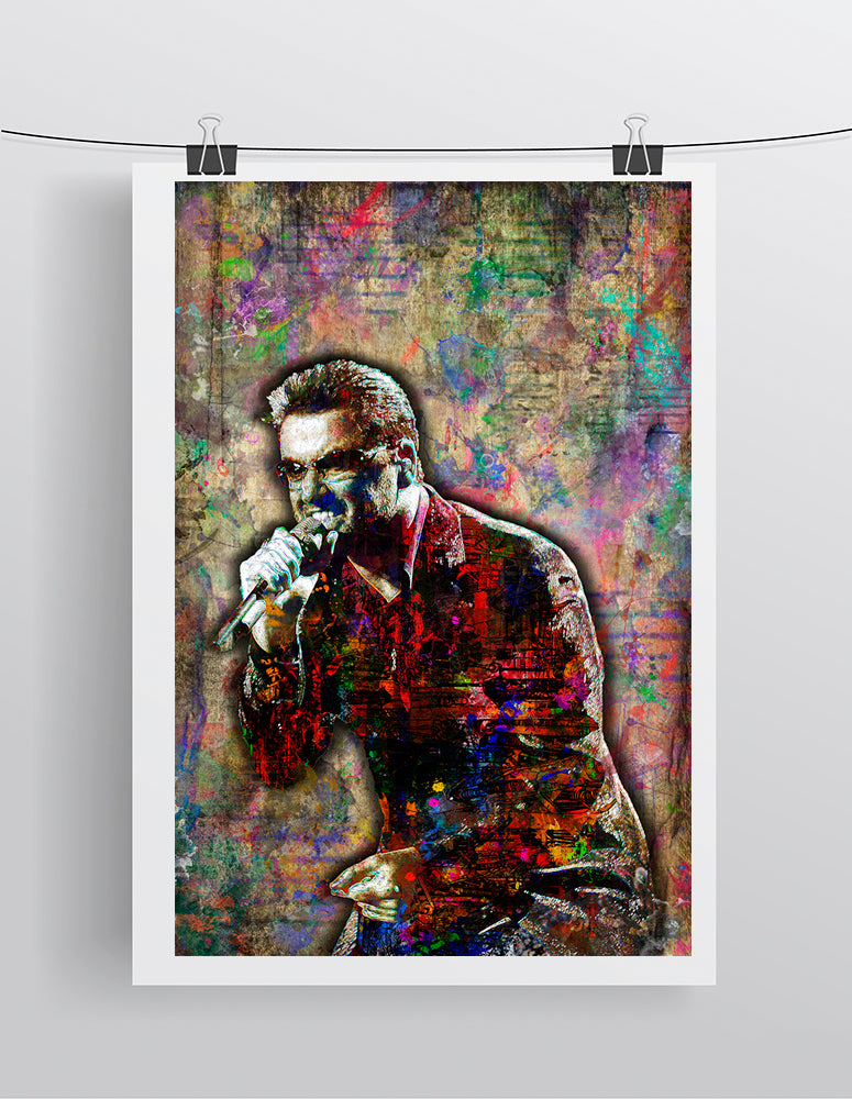 George Michael Poster, George Michael Gift, George Michael Tribute Fine Art