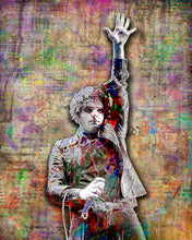 Gerard Way of My Chemical Romance Poster, Gerard Way Tribute Fine Art