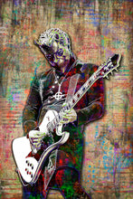Ghost Nameless Ghoul Poster, Nameless Ghoul Portrait Gift, Ghost Tribute Fine Art