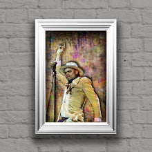 Gord Downie Poster, Gord Downie Gift, Tragically Hip Tribute Fine Art
