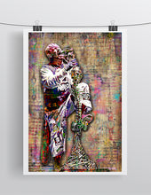 Ivan Moody of Five Finger Death Punch Poster, FFDP Tribute Fine Art