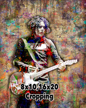 Jack White Poster, Jack White of The White Stripes Gift, Jack White Tribute Fine Art
