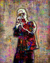 Jeff Gutt Poster, Jeff Gutt Pop Art Stone Temple Pilots Tribute Fine Art