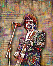 Jeff Lynne of Electric Light Orchestra Poster, ELO Tribute Fine Art