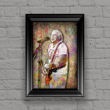 Jimmy Buffett Poster, Jimmy Buffett Gift, Coral Reef Tribute Fine Art