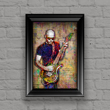 Joe Satriani Poster, Joe Satriani Tribute Fine Art