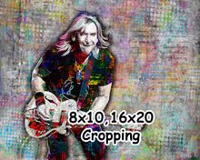 Joe Walsh Poster, Joe Walsh of the Eagles Gift, Joe Walsh Landscape Fine Art