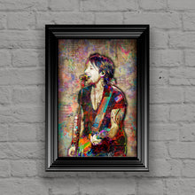 Keith Urban Poster,  Keith Urban Country Gift, Keith Urban Colorful Layered Tribute Fine Art