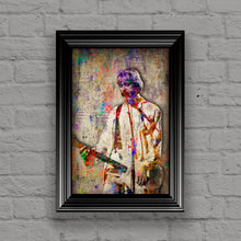 Kurt Cobain Poster, Gift, Kurt Cobain and Nirvana Tribute Fine Art