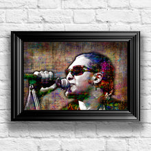 Layne Staley Poster, Layne Staley Close Up, Alice In Chains Tribute Fine Art