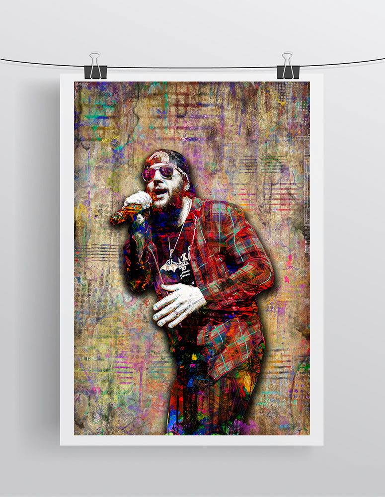 M Shadows of Avenged Sevenfold Poster, M Shadows Tribute Fine Art