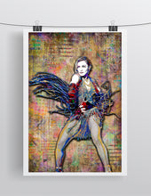 Madonna Poster, Madonna Pop Tribute Fine Art