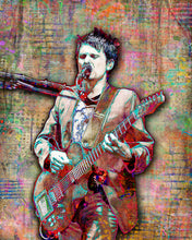 Muse Matt Bellamy Poster, Muse Tribute Fine Art