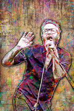 Matt Berninger of The National Poster, The National Tribute Fine Art