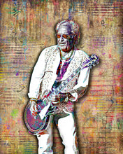 Mick Jones of Foreigner Poster, Foreigner Tribute Fine Art