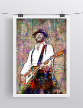 Mike Ness of Social Distortion Poster, Social Distortion Tribute Gift, Mike Ness Art