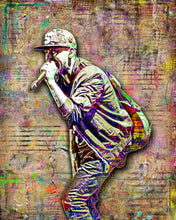 Mike Shinoda of Linkin Park Poster, Linkin ParkTribute Fine Art