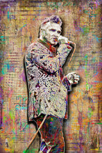 Morrissey Poster, Morrissey of The Smiths Gift, Morrissey Tribute Fine Art