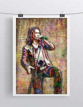 Myles Kennedy Poster, Slash & Myles Kennedy and The Conspirators Tribute Fine Art