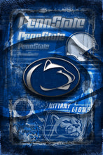 Penn State Nittany Lions Poster, Penn State Gift, Pennsylvania State Nittany Lions Man Cave, Penn State Sports Print