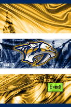 Nashville Predators Poster, Nashville Predators Hockey Print, Predators Man Cave Art, Nashville Hockey