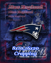 New England Patriots Football Poster,New England Patriots Gift, New England Patriots, Patriots Man Cave