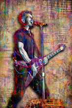 Nick Hexum of 311 Poster, 311 Tribute Fine Art