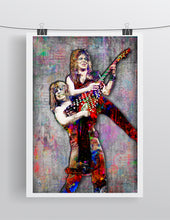 Ozzy Osbourne and Randy Rhoads Poster, Ozzy & Randy Gift, Ozzy Tribute Fine Pop Art