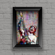 Paul McCartney Poster, Paul of The Beatles Gift, Sir Paul Colorful Layered Tribute Fine Art