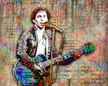 Paul Simon Poster, Paul Simon Tribute Fine Art