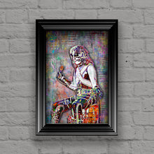 Peter Criss of KISS Poster, Kiss Tribute Fine Art