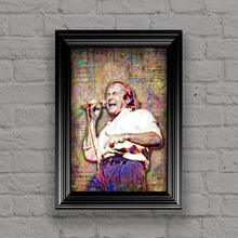 Phil Collins of Genesis Poster, Phil Collins Tribute Fine Art