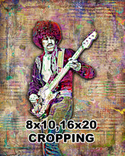 Phil Lynott of Thin Lizzy Poster, Thin Lizzy Tribute Fine Art
