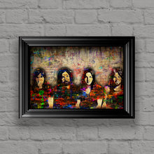 Pink Floyd Poster, Pink Floyd Unique Gift,Pink Floyd Colorful Layered Tribute Fine Art