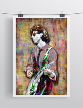 Ric Ocasek of The Cars Poster, The Cars Tribute Fine Art