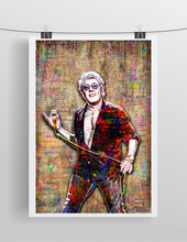 Roger Daltrey Poster, The Who Gift, Roger Daltrey of The Who Tribute Fine Art