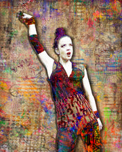 Shirley Manson of Garbage Poster, Shirley Manson Tribute Fine Art