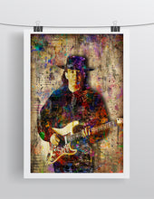 Stevie Ray Vaughan Poster, Stevie Ray Vaughan Tribute Fine Art